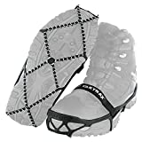 Yaktrax Pro Traction Cleats for Walking, Jogging, or Hiking on Snow and Ice (1 Pair), Medium