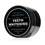 ISUDA All Natural Teeth Whitening Powder with Coconut Activated Charcoal - Organic