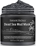 Natural Riches Dead Sea Mud Mask for Face and Body - Natural Skin Care for Men and Women - Spa Quality Best Facial Cleansing Clay for Blackhead, Whitehead, Acne and Pores - 8.8 fl.Oz