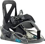 Burton Grom Snowboard Bindings Sz Kids (1k-3k) Black