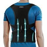 Posture Corrector Full Back Brace for Women & Men - Posture Correction - Adjustable Upright Back Support Straightener - Prevent Scoliosis, Improve Hunchback, Relieve Neck Shoulder Back Pain XXL(45'-50')