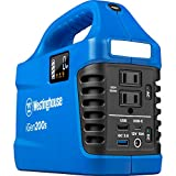 Westinghouse Outdoor Power Equipment iGen200s Portable Power Station and Outdoor Generator 300 Peak 150 Rated Watts, 194Wh Lithium-ion Battery (Solar Panel Not Included)