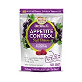 Healthy Delights Naturals - Appetite Control Soft Chews - Garcinia Cambogia, L Carnitine, Green Tea, White Kidney Bean Blend - Delicious Acai Berry Flavor - 30 Count