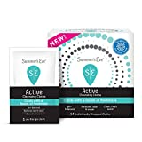 Summer's Eve Active Feminine Cleansing Cloths, Cooling & Refreshing, 14 Count