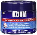Ozium Oziu Regular Smoke & Odors Eliminator Gel. Home, Office and Car Air Freshener 4.5oz (127g), Outdoor Essence Scent (4 Pack)