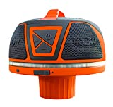 Wow World of Watersports Wow Sound 17-9000, Bluetooth Floating Speaker, Waterproof, 50 Hour Battery, 360 Degree Sound, LED Light, Fits in A Cup Holder (Orange)