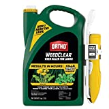 Ortho WeedClear Weed Killer for Lawns: with Comfort Wand, Won't Harm Grass (When Used as Directed), Kills Dandelion & Clover, 1 gal.