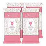 Summer's Eve Cleansing Cloths, pH-Balanced, Dermatologist & Gynecologist Tested, Sheer Floral, 32 count, Pack of 4