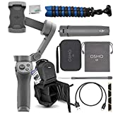 DJI Osmo Mobile 3 Handheld Smartphone Foldable Gimbal Combo Kit Must-Have Bundle - CP.OS.00000040.01