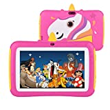 Kids Tablet, 7 inch Kids Tablet Android 9.0 Edition Tablet with WiFi and Bluetooth, GMS Certified, 2GB+16GB Tablet for Kids, Children Tablet with Parental Control