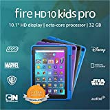 Introducing Fire HD 10 Kids Pro tablet, 10.1', 1080p Full HD, ages 6–12, 32 GB, Intergalactic
