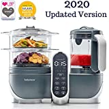 Duo Meal Station Food Maker | 6 in 1 Food Processor with Steam Cooker, Multi-Speed Blender, Baby Purees, Warmer, Defroster, Sterilizer (2020 UPDATED VERSION)