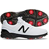 New Balance Men's Fresh Foam LinksPro Golf Shoes, White/Black, 12, D