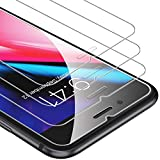 UNBREAKcable 3 Pack Screen Protector for iPhone 8 Plus/iPhone 7 Plus 5.5', 9H Hardness Premium ScreenTempered Glass for iPhone 8 Plus 7 Plus [Anti-Scatch, Free Installation Frame]