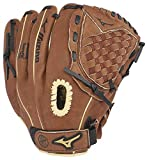 Mizuno GPP1100Y3 Prospect Series PowerClose Baseball Gloves, 11', Right Hand Throw