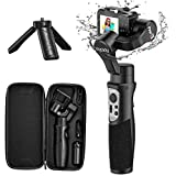 3-Axis Gimbal Stabilizer Handheld for GoPro 8 Action Camera W/Tripod Mount Water-Resistance GoPro Wireless Control for GoPro Hero 8,7,6,5,4,3, DJI Osmo Action,SJ CAM,YI Cam,Sony RX0 – iSteady Pro3…
