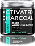 Activated Charcoal Teeth Whitening Powder – Coconut Teeth Whitener – Effective Remover Tooth Stains for a Healthier Whiter Smile - Product of UK by Sunatoria - Improved Formula - Charcoal Teeth White