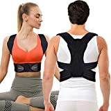 "Mercase Posture Corrector for Men,Women and Kids,Comfortable Adjustable Support Back Brace Providing Pain Relief for Neck, Back, Shoulders,Posture Brace (23""-32""Waist M)"