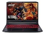 Acer Nitro 5 Gaming Laptop, 10th Gen Intel Core i5-10300H,NVIDIA GeForce GTX 1650 Ti, 15.6' Full HD IPS 144Hz Display, 8GB DDR4,256GB NVMe SSD,WiFi 6, DTS X Ultra,Backlit Keyboard,AN515-55-59KS