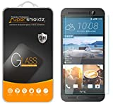 Supershieldz Designed for HTC (One M9 Plus) Tempered Glass Screen Protector, Anti Scratch, Bubble Free