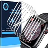 LK 6 Pack Screen Protector for Apple Watch Series 6/SE/Series 5/Series 4 40mm, Model No. LK-40MM-1,Japanese Material, Anti-Scratch, Ultra-Thin Clear TPU Film