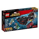 LEGO Super Heroes Iron Skull Sub Attack Building Kit (335 Piece)