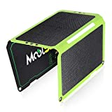 MOOLSUN Solar Charger 24W Portable Solar Panel Charger with 3 USB Output Ports ETFE Foldable Camping Travel Charger for Tablet Ipad iPhone and More
