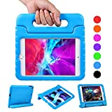 EVA Tablet Case for iPad Mini 4 / Mini 5 with Handle | Blosomeet Full Body Protective Kid-Proof Cover for iPad Mini 5th/4th Generation with 2-Angle Stand | Rugged & Lightweight Case for Boys | Blue