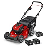 Snapper XD 82V MAX Cordless Electric 19' Push Lawn Mower, Includes Kit of 2 2.0 Batteries and Rapid Charger