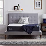 LUCID 10 Inch Memory Foam Plush Feel – Gel Infusion – Hypoallergenic Bamboo Charcoal – Breathable Cover Bed Mattress Conventional, Twin XL