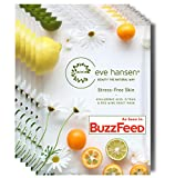 Eve Hansen Anti-Aging Face Mask Sheet Pack X5 | Moisturizing Anti-Wrinkle Facial Masks with Hyaluronic Acid and Antioxidants | Cruelty-Free, Vegan for Women and Men