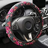 YR Universal Steering Wheel Covers, Cute Car Steering Wheel Cover for Women and Girls, Car Accessories for Women, Hawaii