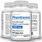 Phentremin, Extra Strength Weight Loss Complex, Best Appetite Suppressant, 37.5, 60 Capsules