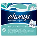 Always Wipes-to-Go, 20 Count - Pack of 4 (80 Total Count)