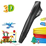 Nulaxy 3D Pen with PLA Filament Refills, Speed & Temperature Adjustment, Non-Clogging, 3D Drawing Printer Printing Pen for Kids Girls Boys Adults Birthday Christmas Gifts, Easy to Use