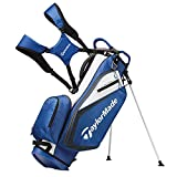 TaylorMade 2019 Golf Select Stand Bag, Blue/White