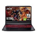Acer Nitro 5 AN515-55-53E5 Gaming Laptop | Intel Core i5-10300H | NVIDIA GeForce RTX 3050 Laptop GPU | 15.6' FHD 144Hz IPS Display | 8GB DDR4 | 256GB NVMe SSD | Intel Wi-Fi 6 | Backlit Keyboard