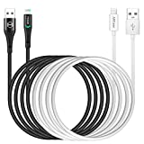 2-Pack1.2M [A pple MFi Certified] L ightning Cable Phone Charger Cable,Nylon Braided USB Fast Charging Cord Compatible with Phone 11/11 pro max/X/Xs Max/XR / 8/8 Plus / 7/7 Plus iPad, iPod
