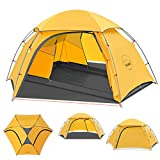 KAZOO Outdoor Camping Tent Durable Lightweight Waterproof Backpack Tents 2 person Hiking tent Backpacking Easy Setup, 3 Aluminum poles Double Layer.