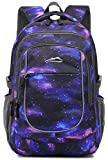 Backpack Bookbag for School Student College Business Travel Fit Laptop 15.6 Inch (Galaxy C)