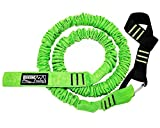 Biking Buddy MTB Tow Rope for Bicycle   Strong and Durable Kids Tow Strap for Long Cycling Adventures   Mountain Bike Tow Bar Bungee Pull Behind   Compatible with All Bikes