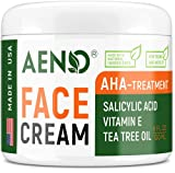 Acne Treatment Natural Cream - Made in USA - Acne Scar Removal & Acne Spot Pimple Cream with Tea Tree Oil - Safe & Intensive Cystic Acne Removal - Prevent Breakouts for Normal, Dry & Oily Skin - 4 oz