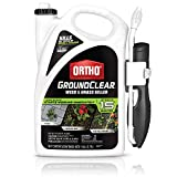 Ortho GroundClear Weed & Grass Killer Ready-to-Use - Grass Weed Killer Spray, Use in Landscape Beds, Around Vegetable Gardens, on Patios & More, Broadleaf Weed Killer