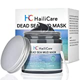 SKINER Dead Sea Mud Mask for Face/Body Spa, Reducing Acne, Oily Skin, Blackheads, Whiteheads, Natural Spa Skin Care Infused With Minerals & Essential Oils for Face and Body, 8.8 oz