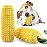 Dog Chew Toys, Puppy Toothbrush Clean Teeth Interactive Corn Toys, Pet Squeaky Toys for Aggressive Chewers Small Meduium Large Breed