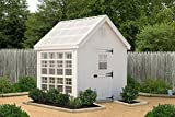 Little Cottage Company Colonial Gable Greenhouse Panelized Playhouse Kit, 10' x 12'