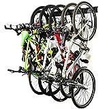 Ultrawall Bike Storage Rack,6 Bike Storage Hanger Wall Mount for Home & Garage Holds Up to 300lbs