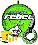 Airhead Rebel Kit | 1 Rider Towable Tube w/Rope & Pump, Multi, One Size (AHRE-12)