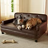 Enchanted Home Pet Library Sofa, 40.5 by 30 by 18-Inch, Brown
