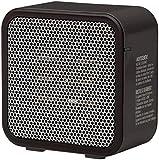 AmazonBasics 500-Watt Ceramic Small Space Personal Mini Heater - Black